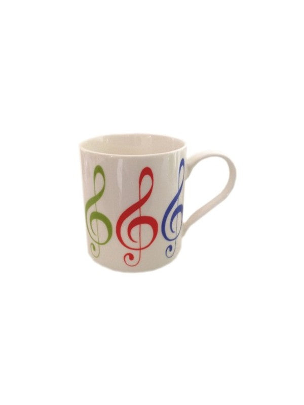Fine China Mug - Allegro - Treble Clef