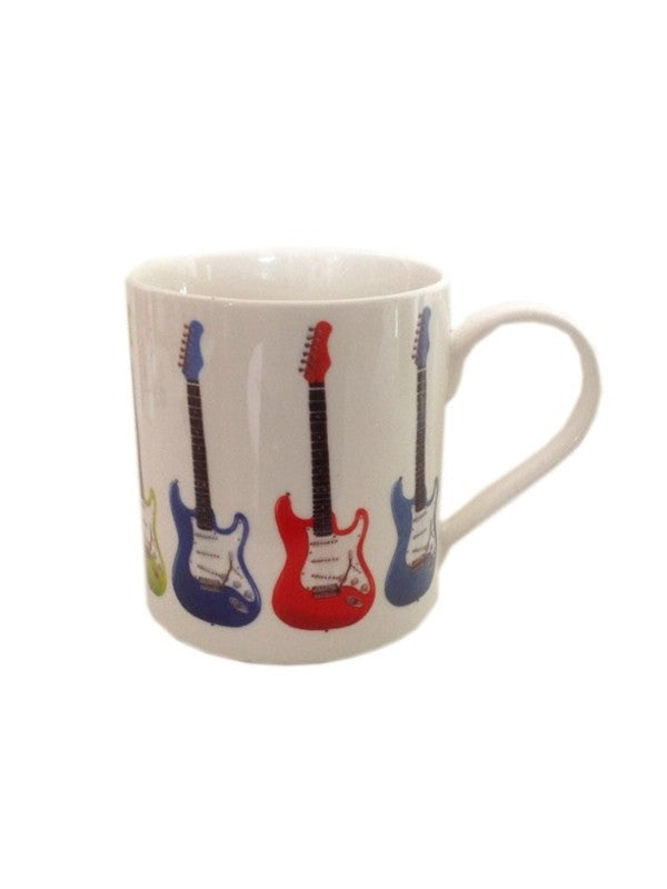 Fine China Mug - Allegro - Electric Guitar