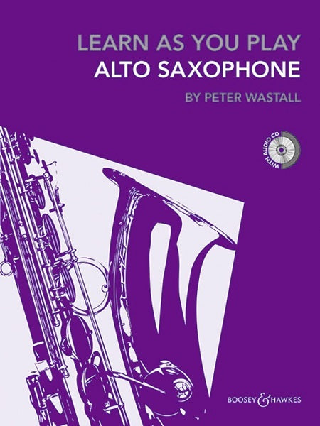 Learn as you Play Alto Saxophone w/cd