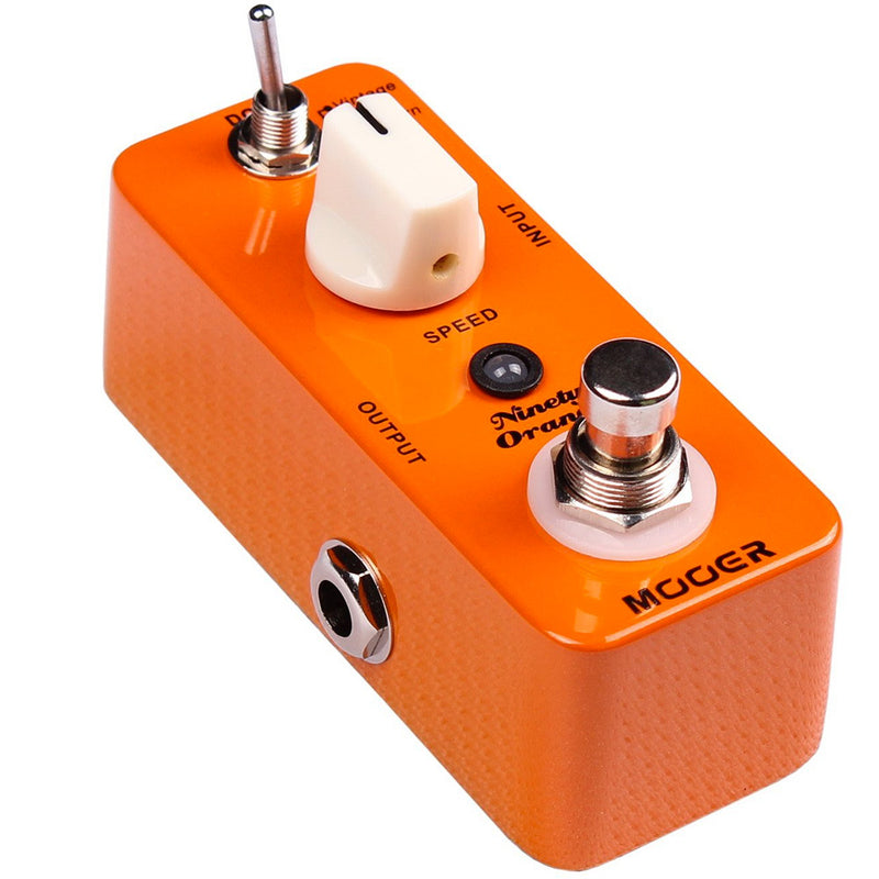 Mooer Ninety Orange Micro Analogue Phase Pedal (o/s)