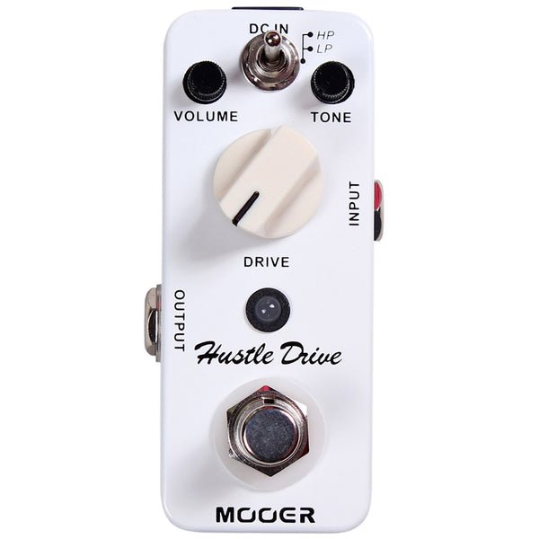 Mooer Hustle Drive Micro Distortion Pedal