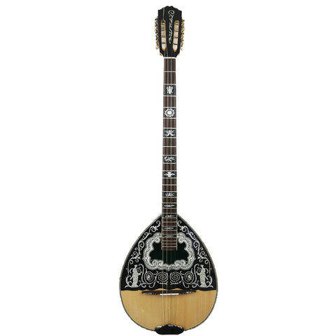 Mythos MP3 8 String Bouzouki (Caryatithes design)