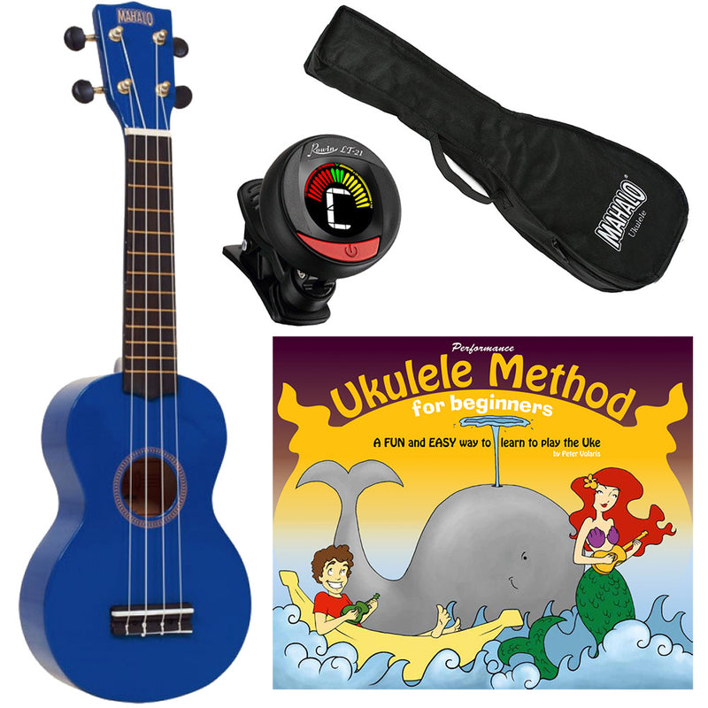 Volaris Ukulele Pack - Blue