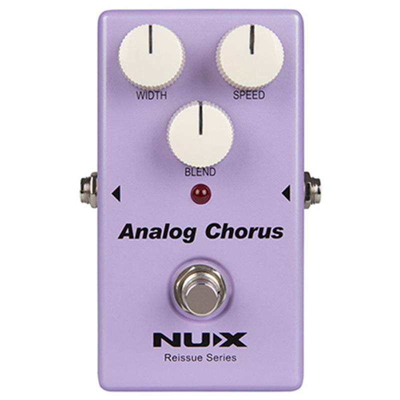 NU-X Reissue Series Analog Chorus Effects Pedal