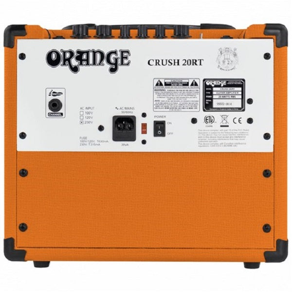 Orange Crush 20RT Guitar Amp Combo w/  Reverb & Tuner (20 Watts)
