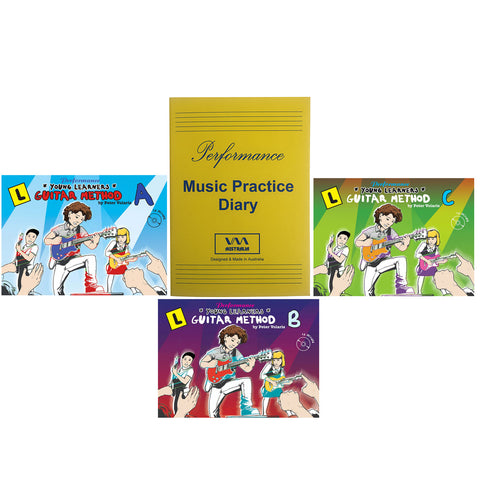 Young Learners Guitar Method Value Pack with Free Practice Diary