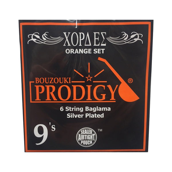 Prodigy Orange 6 String Baglama Strings