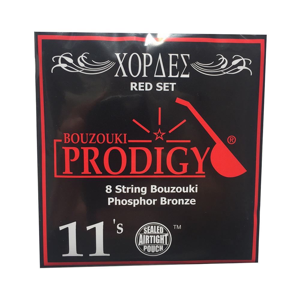 Prodigy Red 8 String Bouzouki Strings