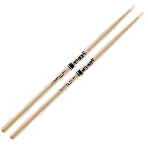 Promark 7AN American Hickory Drumsticks Nylon Tip