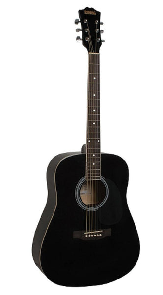 Redding RED50BK Acoustic Guitar Pack - Black