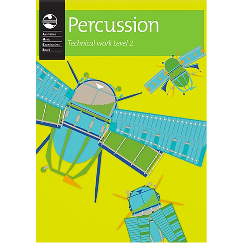 AMEB Percussion Technical Work Level 2 2013 Edition - Current