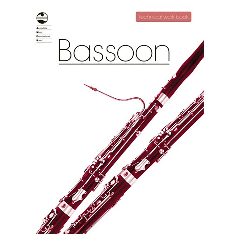 AMEB Bassoon Technical Workbook 2011 Edition - Current