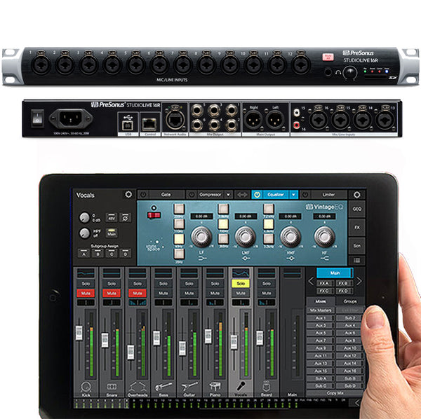 PreSonus Series III SL16R Rack Mount Digital Mixer