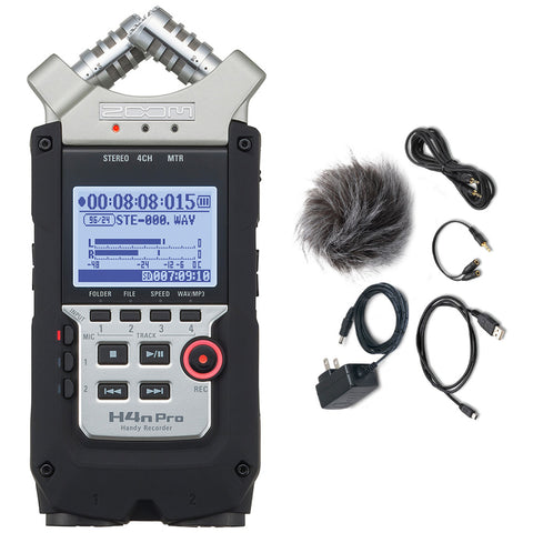 Zoom H4n Pro Handy Recorder & Accessory Pack