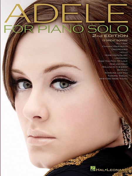 Adele - For Solo Piano 2nd Edition
