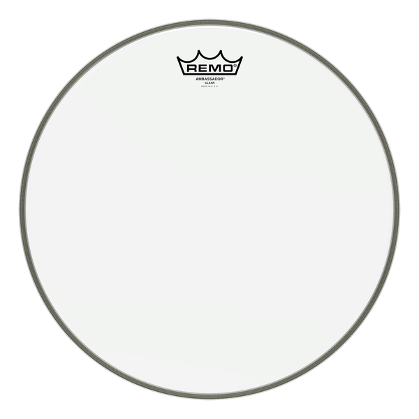Remo Ambassador Drum Head - Clear