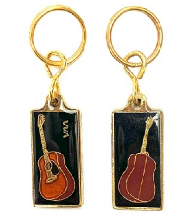 VM Australia Key ring WESTERN GUITAR