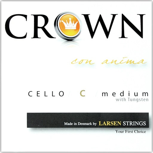 Crown by Larson 4/4 Size Cello Strings - Set