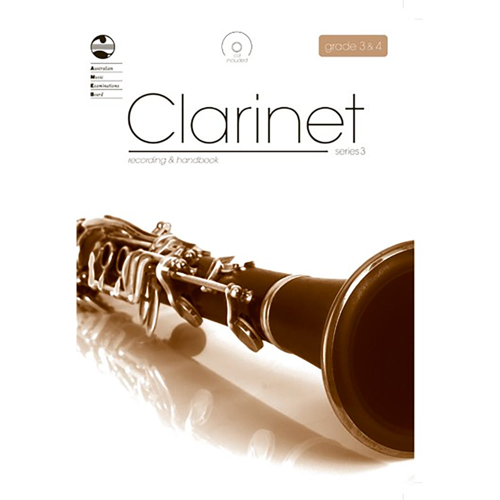 AMEB Clarinet Series 3 Grade 3 to 4 CD Recording / Handbook