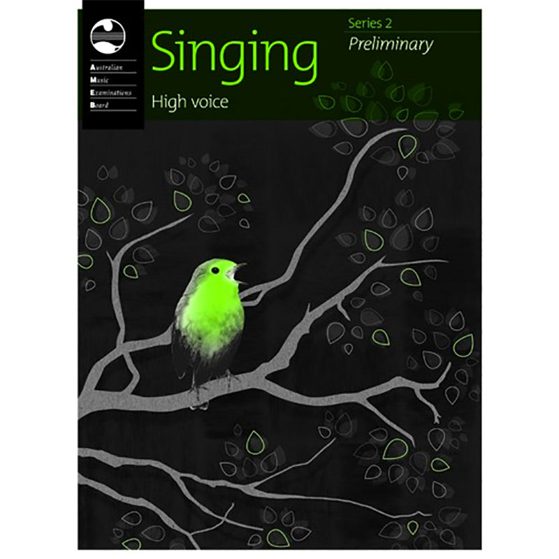 AMEB Singing Series 2 Preliminary Grade - High Voice