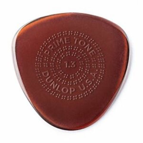 "Dunlop Ultex ""Primetone"" 1.3 Sculpted Plectra  - Semi Round 3 pack"