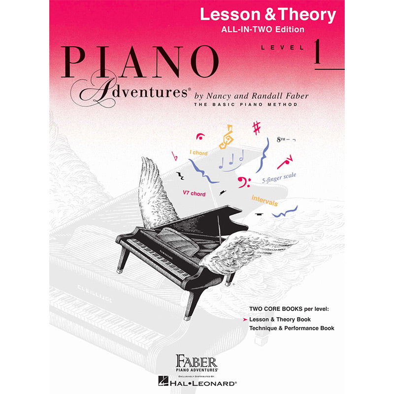 Piano Adventures All-In-Two Level 1 - Lesson and Theory Book
