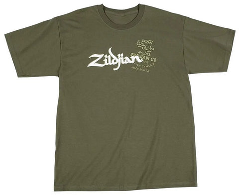 Zildjian Military Green T-Shirt XL