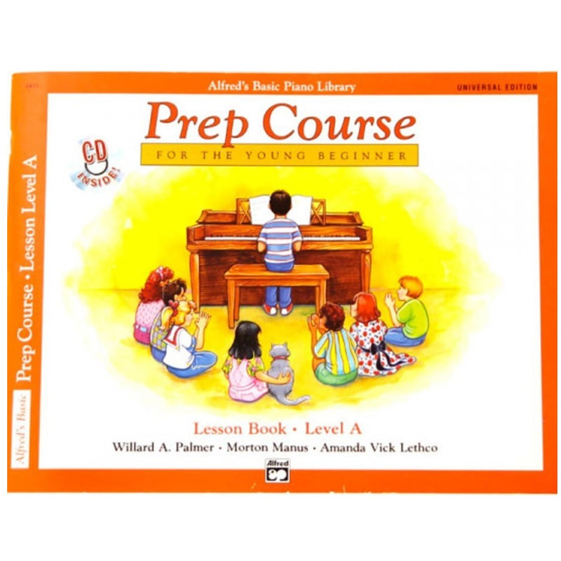 Alfred's Basic Prep Course - Lesson Book Level A