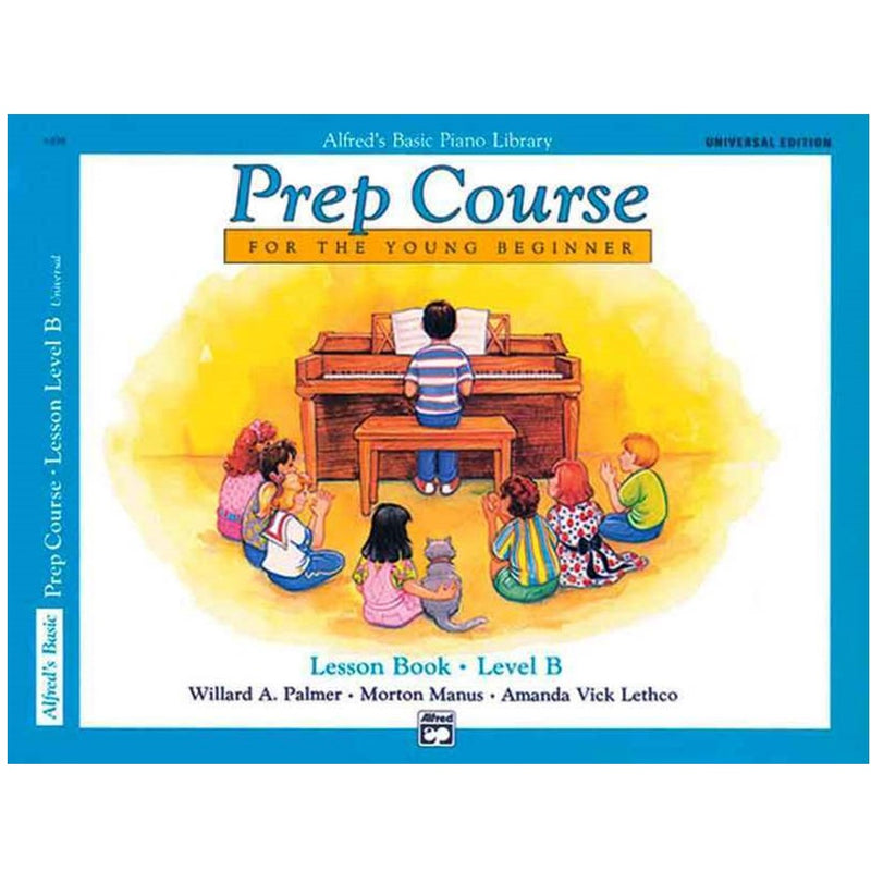 Alfred's Basic Prep Course Lesson Book - Level B