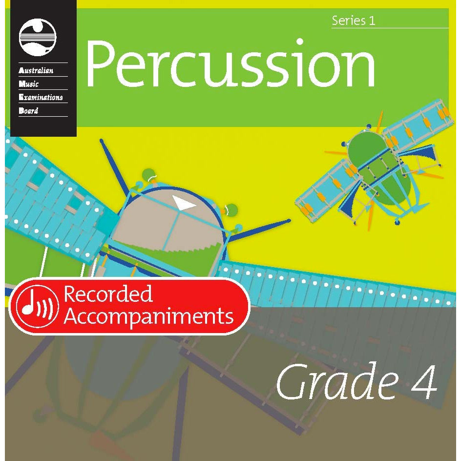 AMEB Percussion Series 1 Grade 4 Recorded Accompaniment CD