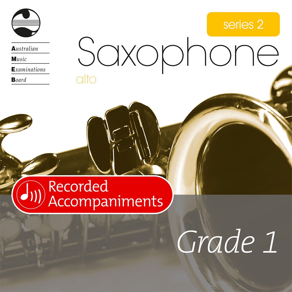 AMEB Alto Saxophone Series 2 Grade 1 Recorded Accompaniment