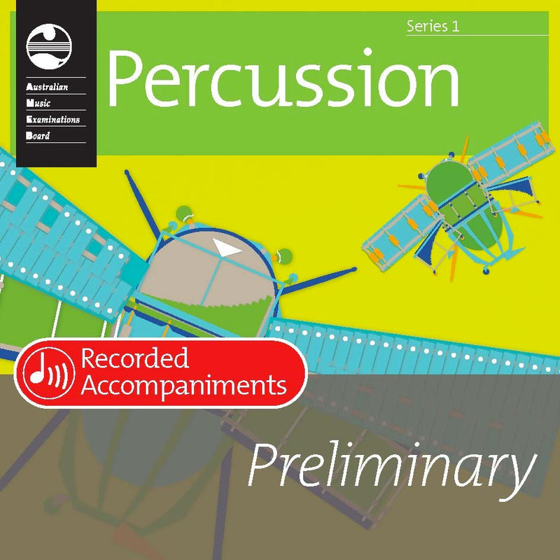 AMEB Percussion Series 1 Preliminary Grade Recorded Accompaniment CD