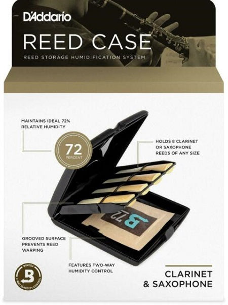 Rico Reed Case & Humidity Control Pack