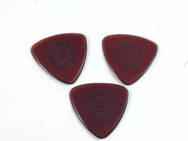 "Dunlop Ultex ""Primetone"" 1.5 Sculpted Plectra  - Small Triangle 3 pack"