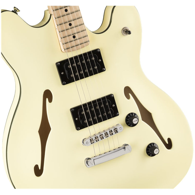 Squier Affinity Starcaster Maple Fingerboard White