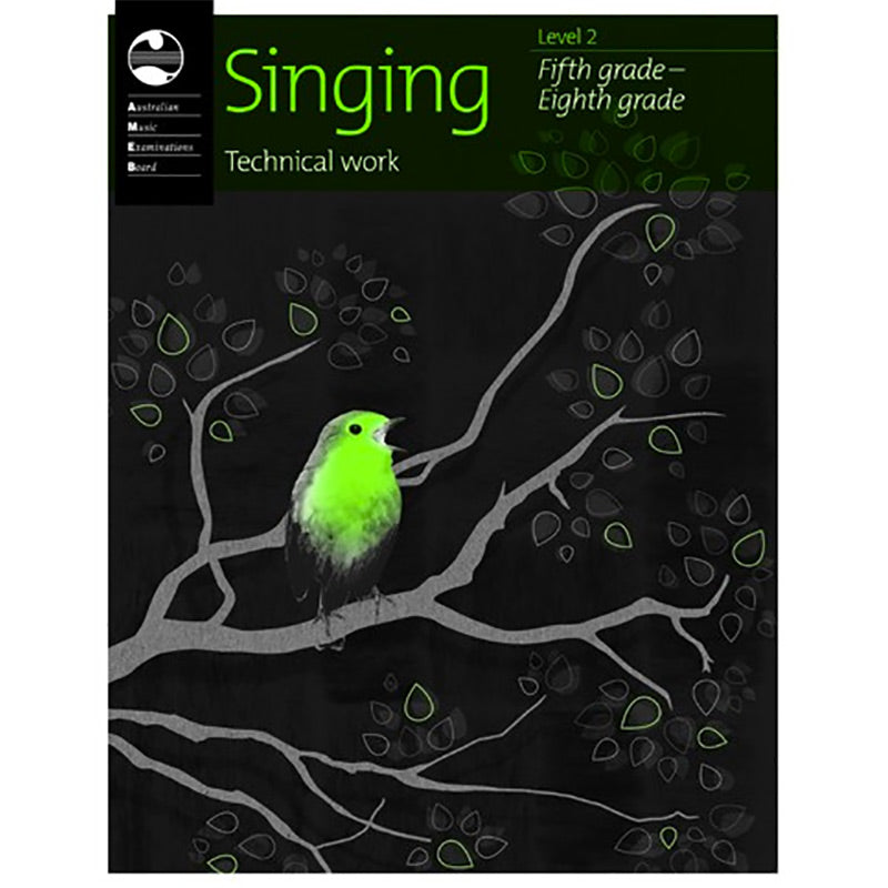 AMEB Singing Technical Workbook 2010 Fifth to Eighth Grade - Current