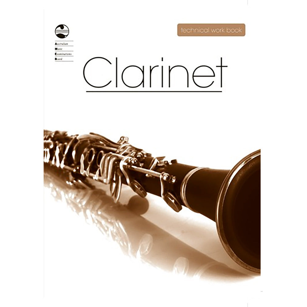 AMEB Clarinet Technical Workbook 2008 Edition - Current