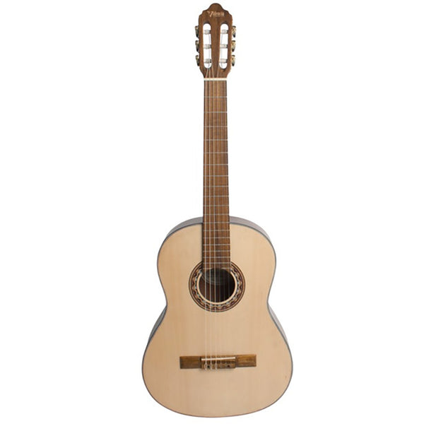 Valencia VC304 4/4 Size Classical Guitar in Stunning Natural Finish!
