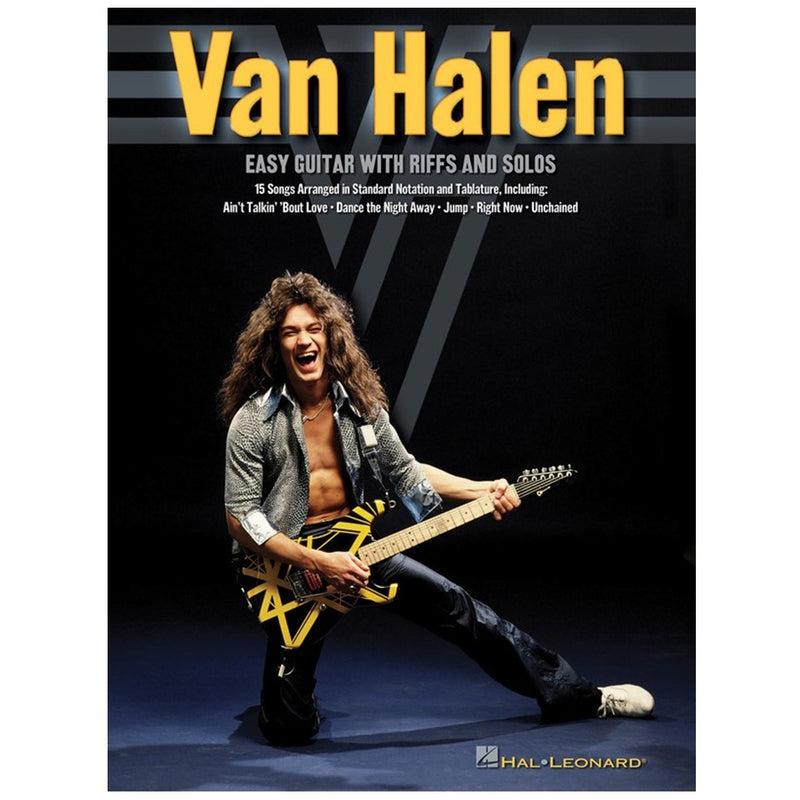 Van Halen - Easy Guitar with Riffs and Solos