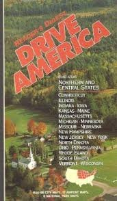 Drive America: Road Atlas Northern and Central States with 66 City Maps, 17 Airport Maps