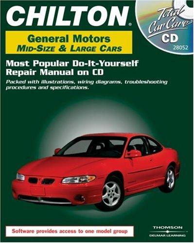 Total Car Care CD-ROM: General Motors Mid-Size & Large Cars, 1982-2000 Retail Box