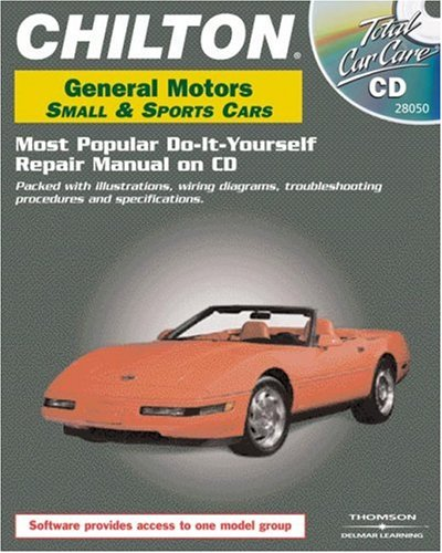 Total Car Care CD-ROM: General Motors Small & Sports Cars, 1982-2000 Retail Box