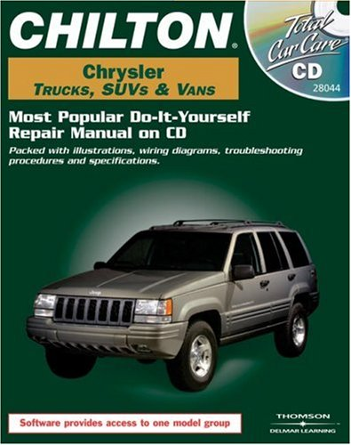 Total Car Care CD-ROM: Chrysler Trucks, SUVs & Vans, 1984-2000 Retail Box
