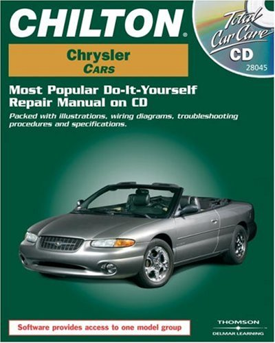 Total Car Care CD-ROM: Chrysler Cars, 1981-1999 Retail Box
