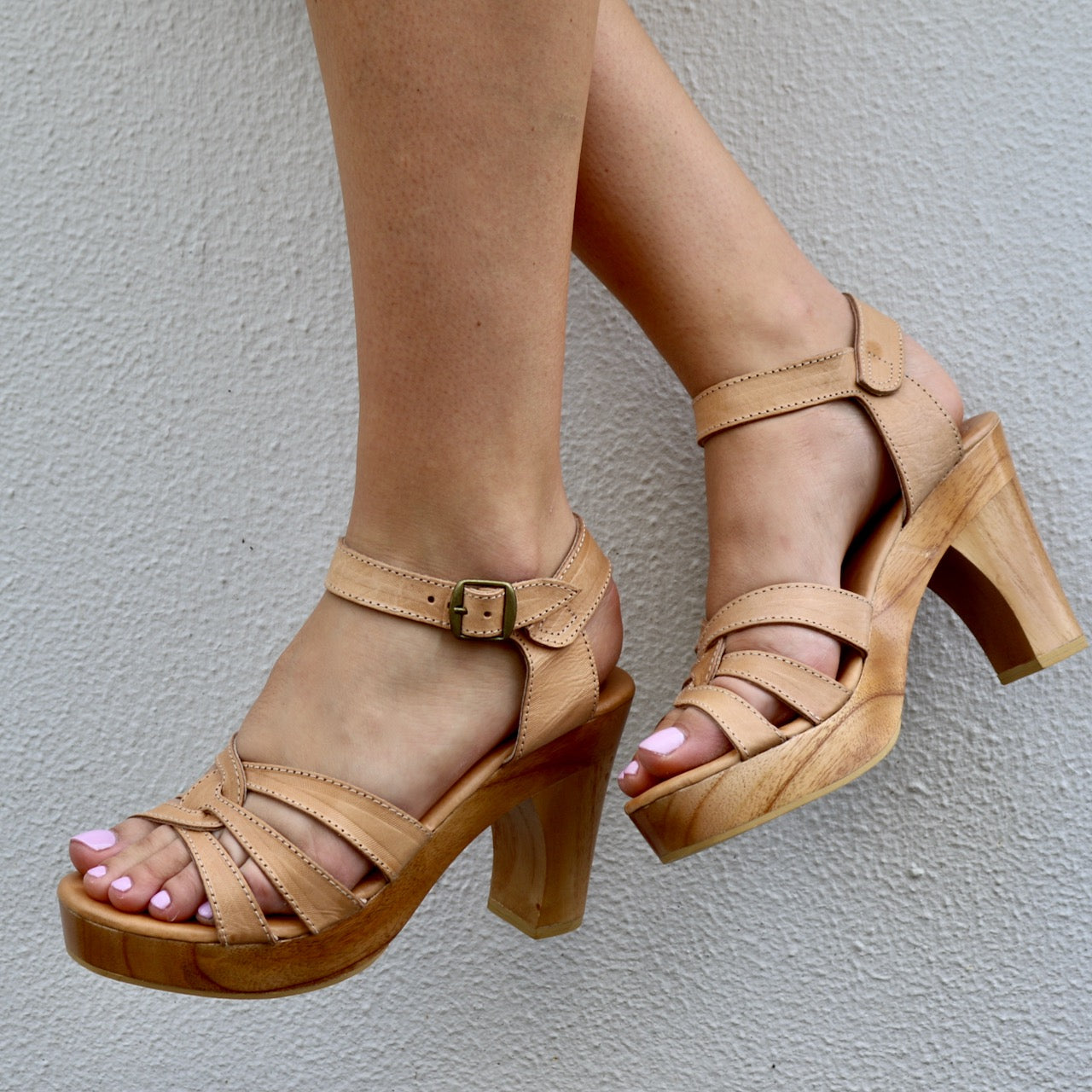 **PREORDER** SAGE HEEL : NUDE FOR DELIVERY LATE JAN/EARLY FEB