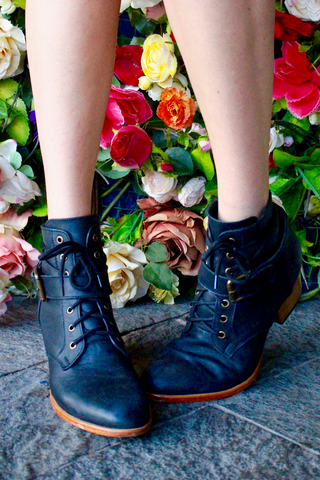 WOODSTOCK BOOT - BLACK