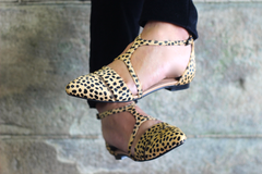 PREORDER :FIFI FLATS - CAMEL LEOPARD - DELIVERY LATE APRIL