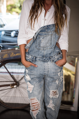 RIDE OR DIE DENIM OVERALL - RESTOCKED 30/7