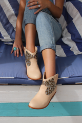 WEST BOOT - NATURAL : RESTOCKED