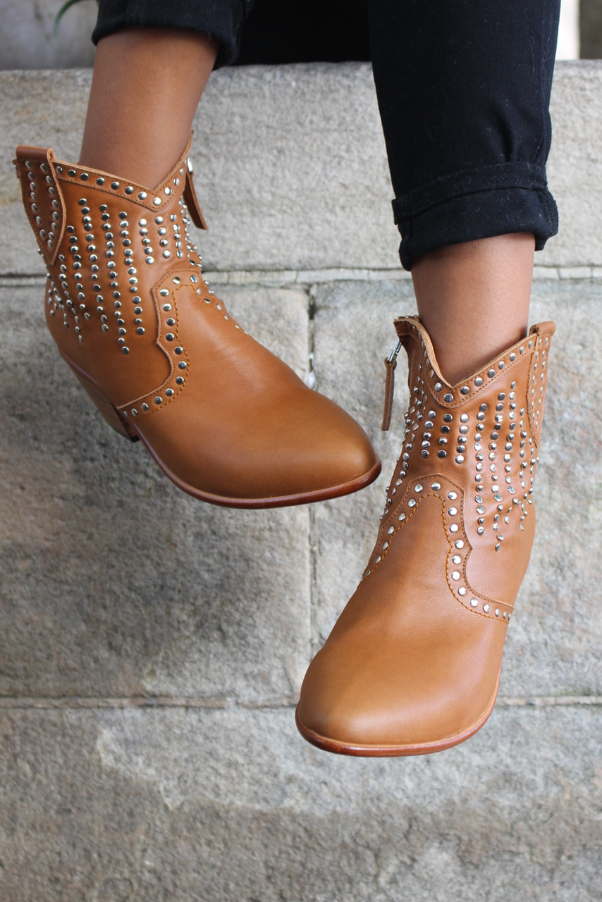***LILY BOOT - TAN : PREORDER!! DELIVERY MID DEC